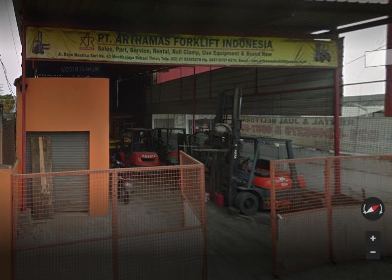 Arthamas Forklift office
